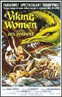 mujeres vikingo y la serpiente del mar