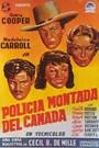 Polic�a montada del canad�