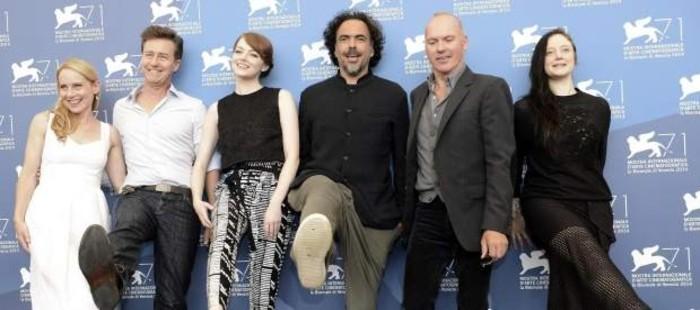 Gonz�lez I��rritu convence con 'Birdman' en Venecia, su primera incursi�n en la comedia