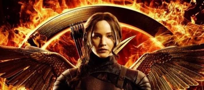 Jennifer Lawrence luce alas en el cartel de 'Los juegos del hambre: Sinsajo, parte I'