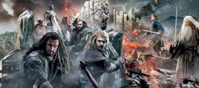 Publican un p�ster gigante de la pel�cula 'El Hobbit: La batalla de los cinco ej�rcitos'