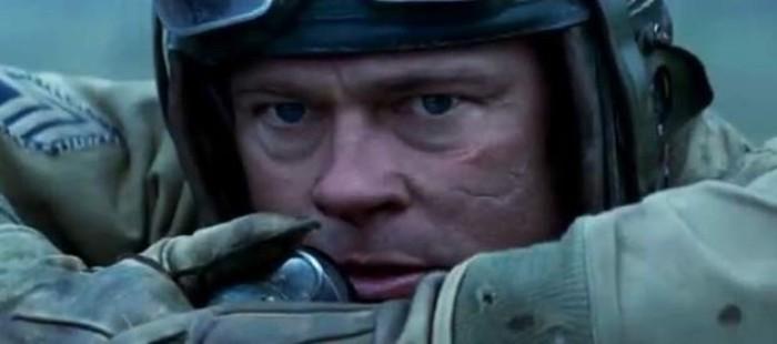 Brad Pitt, a pu�etazos con sus compa�eros de rodaje en 'Fury'