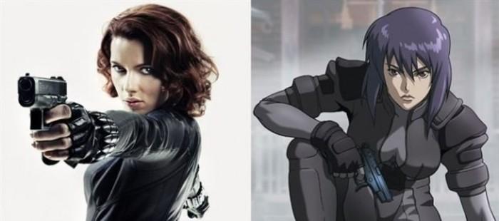 Scarlett Johansson, favorita para protagonizar la pel�cula 'Ghost in the Shell', basada en el manga
