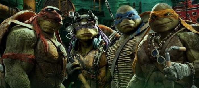 Las tortugas ninja se hacen con el n�mero 1 de la taquilla