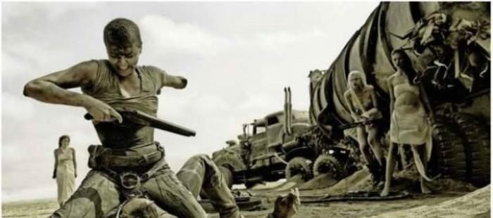 Charlize Theron aparece manca en las nuevas im�genes de la cuarta entrega de 'Mad Max'