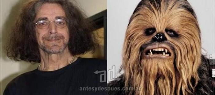 Peter Mayhew, el actor que da vida al peludo Chewbacca, est� ingresado por neumon�a