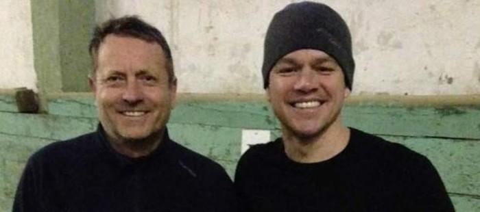 Matt Damon aprende el tiro con arco a caballo en Hungr�a para su nueva pel�cula