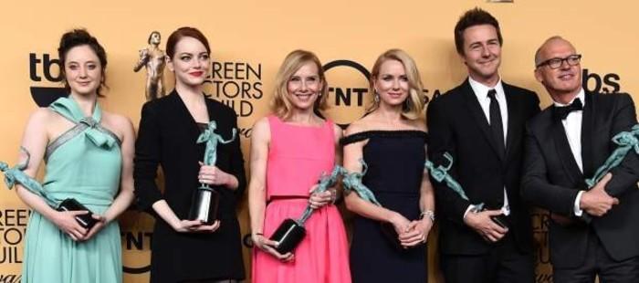 'Birdman' se alza con el galard�n a mejor reparto en los Premios del Sindicato de Actores