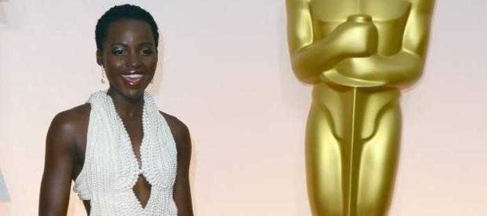 Roban el vestido de perlas que Lupita Nyong'o emple� en la ceremonia de los �scar
