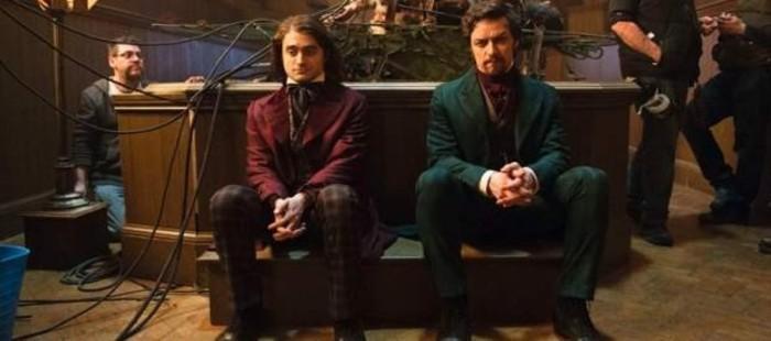 Primeras im�genes de Daniel Radcliffe y James McAvoy en el rodaje de 'Victor Frankenstein'