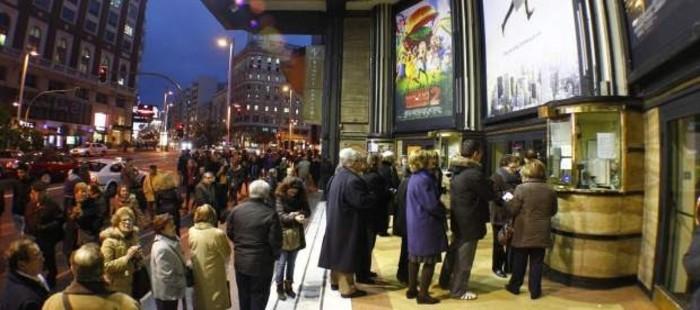 El cine espa�ol sedujo a 22 millones de espectadores en 2014, m�s del doble que en 2013