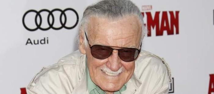El creador de superh�roes Stan Lee reaparece en el estreno de 'Ant-Man' tras ser ingresado