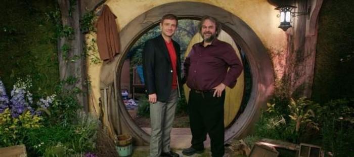 Peter Jackson convierte el s�tano de su casa en una r�plica del agujero hobbit de Bilbo Bols�n