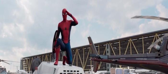 Capit�n Am�rica 3: Spiderman en nuevo spot extendido de la pel�cula Marvel
