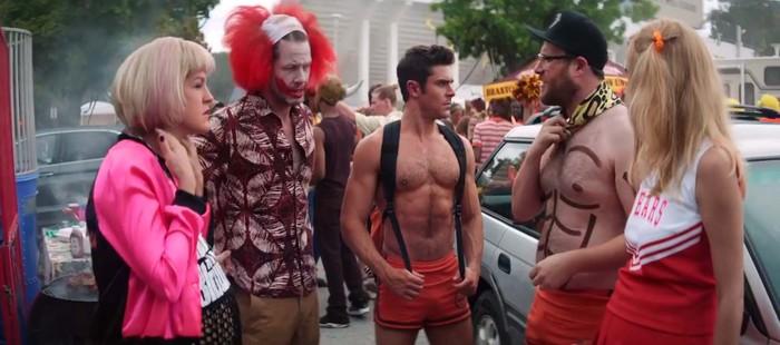 Malditos Vecinos 2: Primer clip con Zac Efron en aceite caliente