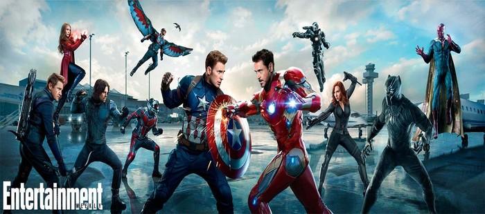 Capit�n Am�rica 3 ya est� en el top de taquilla de 2016 antes de sus estrenos principales