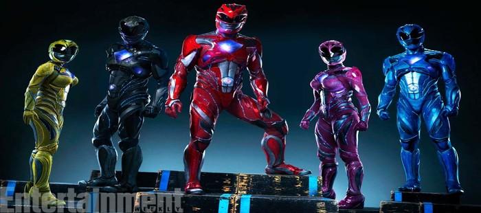 Power Rangers: Primera imagen oficial con los protagonistas