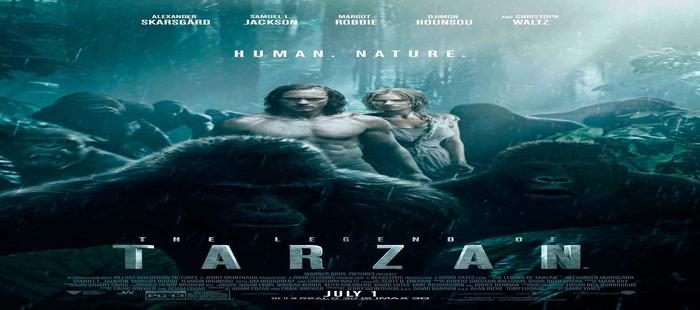 La Leyenda de Tarz�n 2: Potente cartel con todos los protagonistas