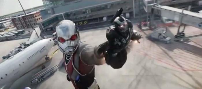 Capit�n Am�rica 3: Espectacular escena de combate con Giant Man
