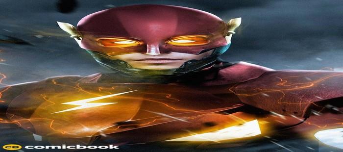 La Liga de la Justicia: Potente fanart de Flash al comienzo del rodaje