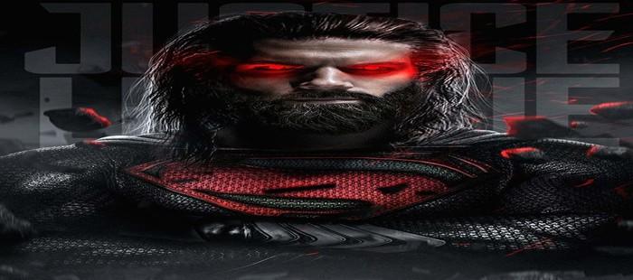 La Liga de la Justicia: Potente cartel fanart con Superman de vuelta y muy cambiado