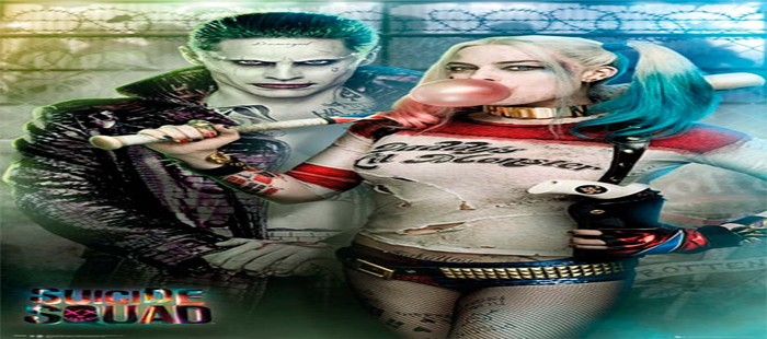 Escuadr�n Suicida: Harley Quinn espectacular en nuevos carteles de la Comic Con 2016