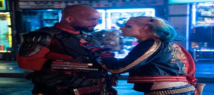 Escuadr�n Suicida: Nueva imagen con Harley Quinn y Deadshot enfrentados