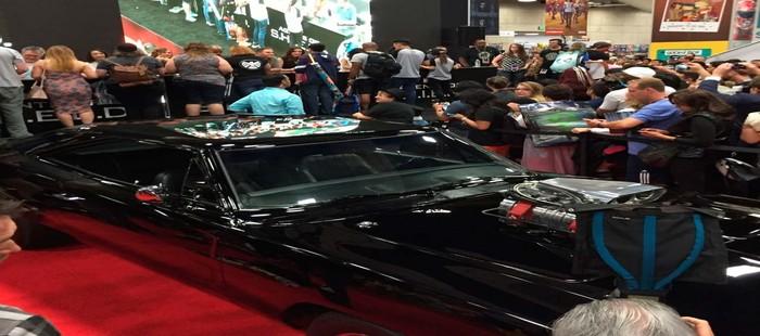 SHIELD: Primera imagen del coche de Ghost Rider en la Comic Con 2016