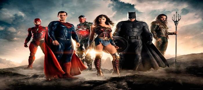 La Liga de la Justicia: Espectacular primera imagen con todo el grupo en detalle