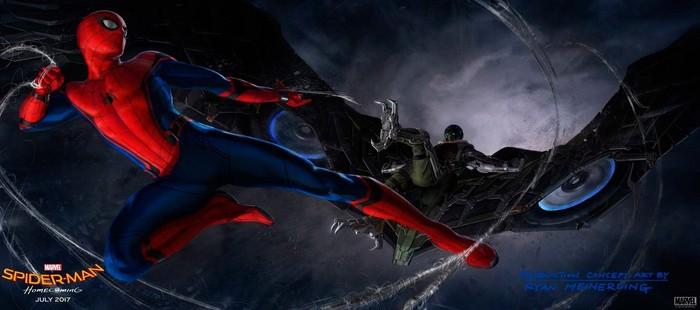 Spiderman Homecoming: Primera imagen oficial del Buitre en arte conceptual