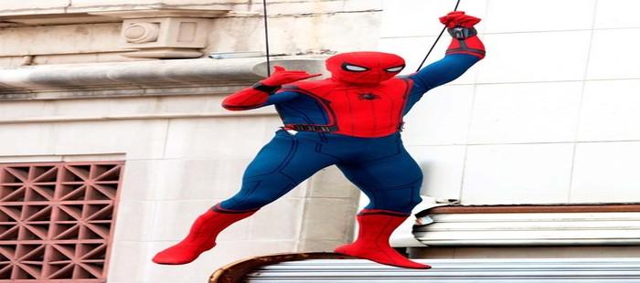 Spiderman Homecoming: Peter Parker por los aires en nueva imagen de rodaje