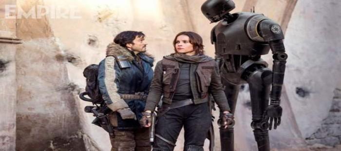 Star Wars Rogue One: Nueva imagen con Felicity Jones y Diego Luna