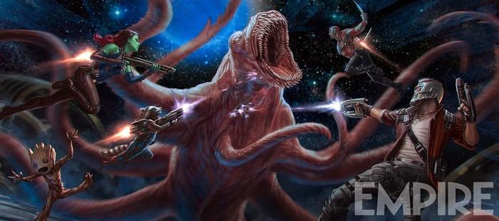 Guardianes de la Galaxia 2: Potente imagen de acci�n de la secuela Marvel