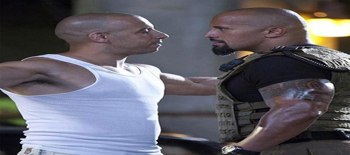 Fast and Furious 8: Vin Diesel y Dwayne Johnson se enfrentar�n en WrestleMania