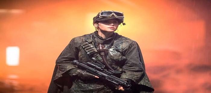 Star Wars Rogue One: Felicity Jones en nueva imagen tras el segundo rodaje
