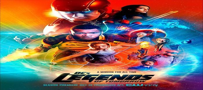 Legends of Tomorrow: Potente cartel de la segunda temporada con los nuevos personajes