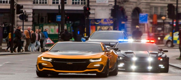 Transformers 5: Nuevas im�genes de acci�n en las calles de Londres