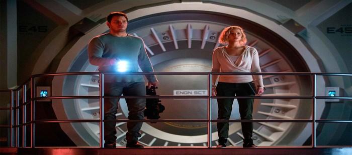 Passengers: Jennifer Lawrence y Chris Pratt en nuevas im�genes antes del estreno