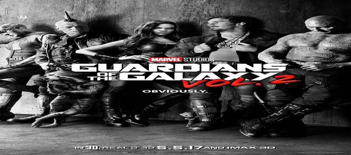 Guardianes de la Galaxia 2: Primer cartel oficial con los cambios en sus protagonistas