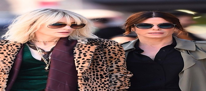 Oceans 8: Primera imagen de rodaje con Cate Blanchett y Sandra Bullock