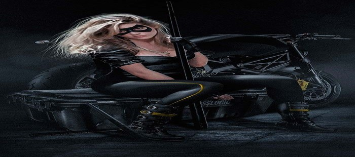 La Liga de la Justicia: Katheryn Winnick en fanart de Black Canary