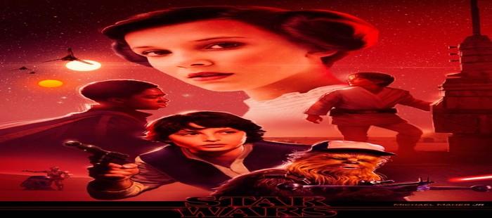 Star Wars Episodio 8: Potente cartel fanart con los protagonistas de Stranger Things