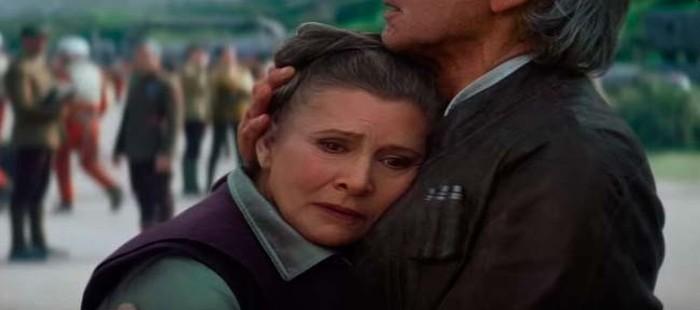 Star Wars Episodio 8: El guión se retocará para eliminar a Leia de la novena película