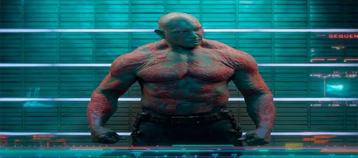 Guardianes de la Galaxia 2: James Gunn adelanta la gran relevancia del papel de Dave Bautista