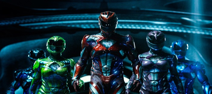 Power Rangers: Todo el grupo con sus armaduras en alta definición