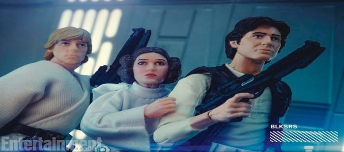 Star Wars Episodio 8: Hasbro lanza una nueva línea de figuras de la trilogía clásica