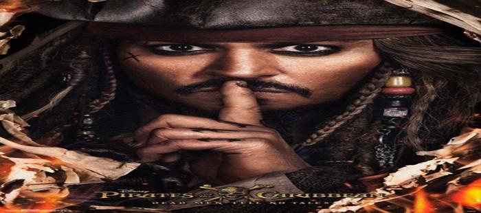 Piratas del Caribe 5: Nuevo cartel con Johnny Depp en su último Jack Sparrow