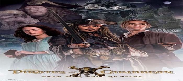 Piratas del Caribe 5: Nuevo cartel con sus protagonistas pero sin Orlando Bloom