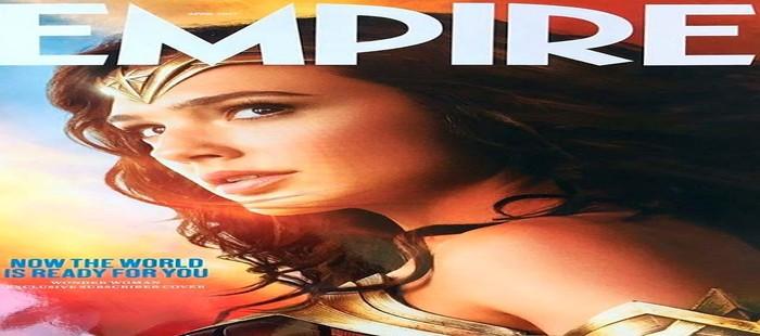 Wonder Woman: La poderosa amazona en nueva portada de Empire