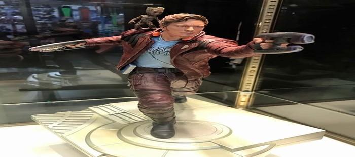 Guardianes de la Galaxia 2: Nueva figura de coleccionista con Star Lord y Baby Groot